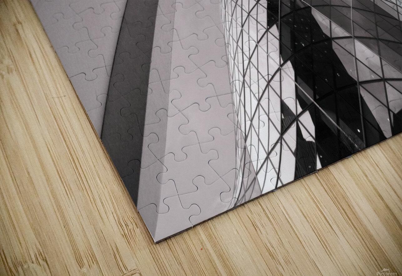 Gherkin HD Sublimation Metal print