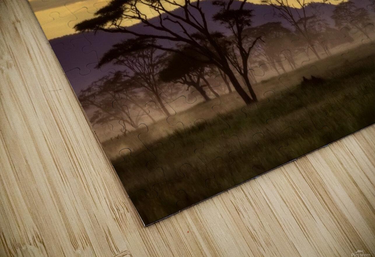 Good evening tanazania HD Sublimation Metal print