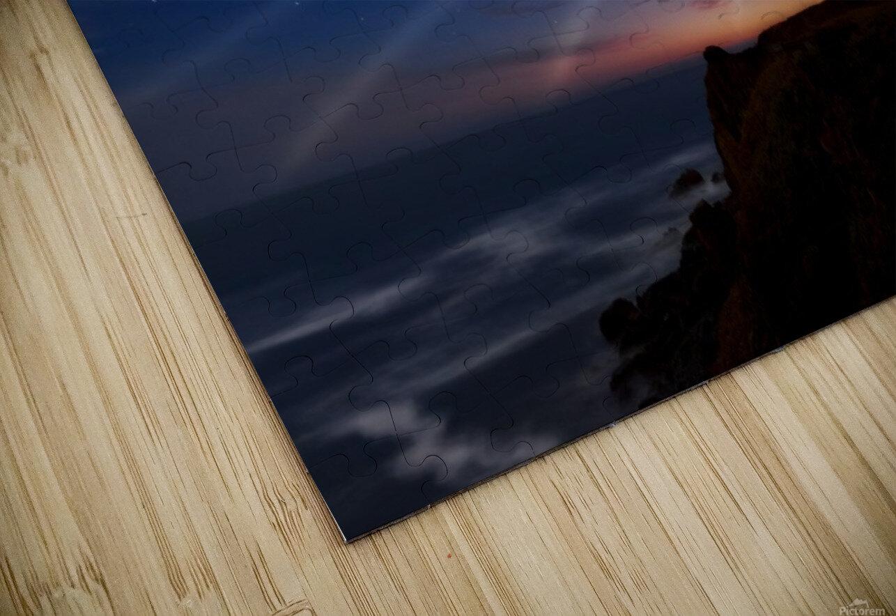 Lighting of the Lens HD Sublimation Metal print