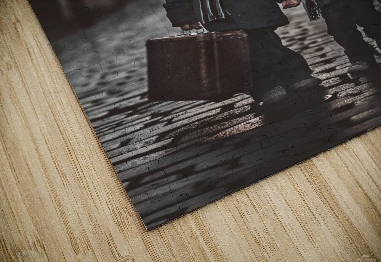 Les MisA©rables HD Sublimation Metal print