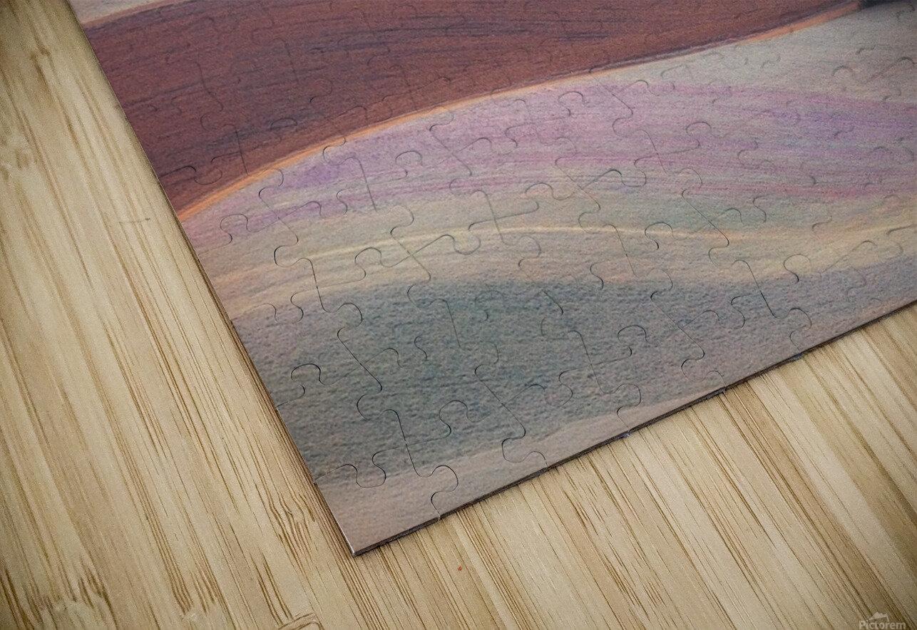Waves HD Sublimation Metal print