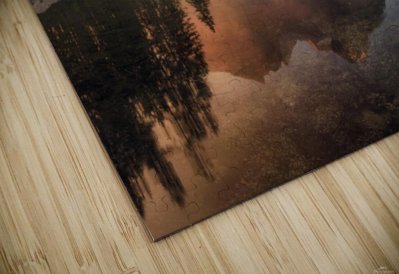Glowing Mist HD Sublimation Metal print