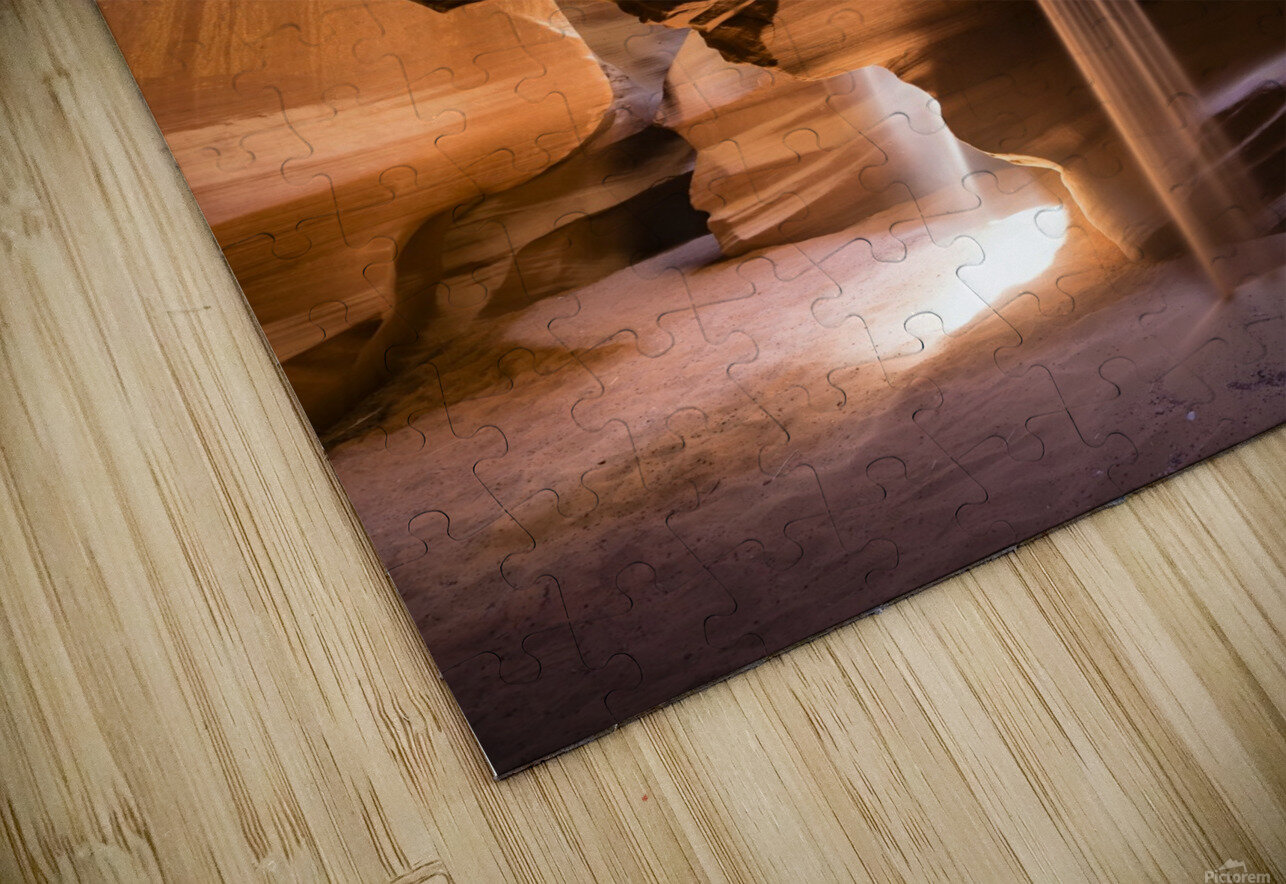 Sand Fall HD Sublimation Metal print