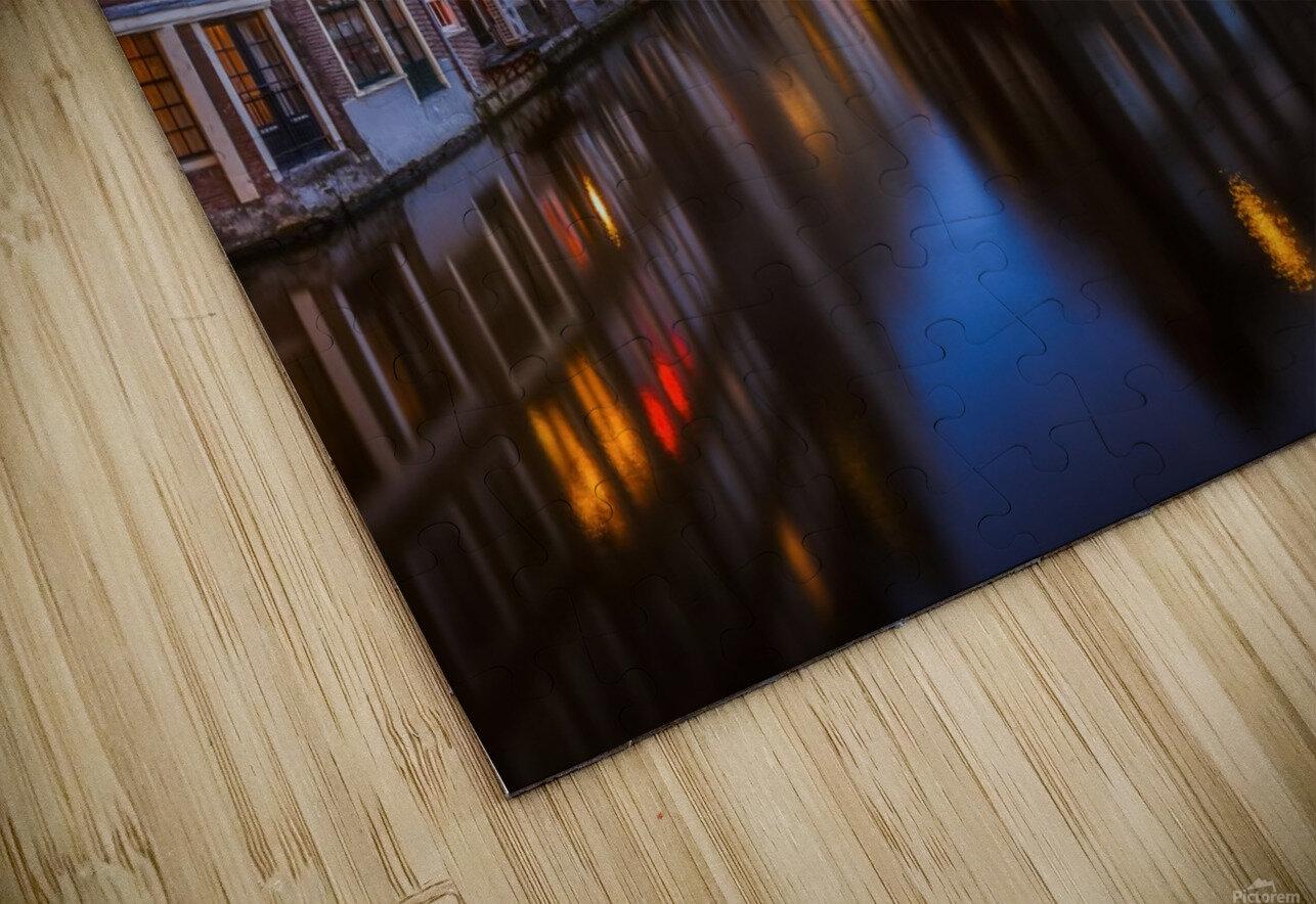 Blue Amsterdam Impression de sublimation métal HD