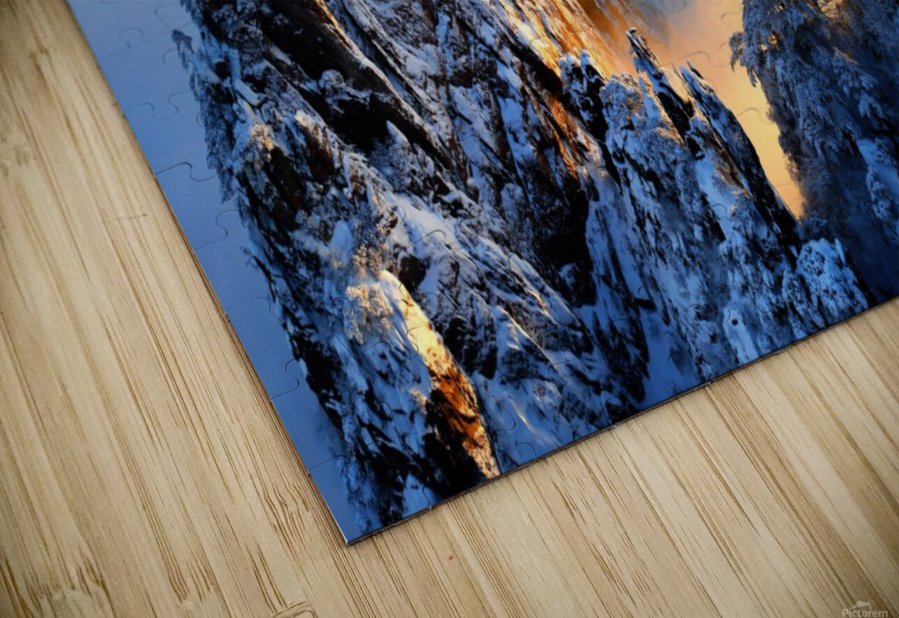 Sunrise at Mt. Huang Shan HD Sublimation Metal print