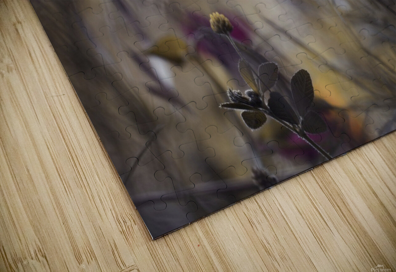 Things that flowers tell HD Sublimation Metal print