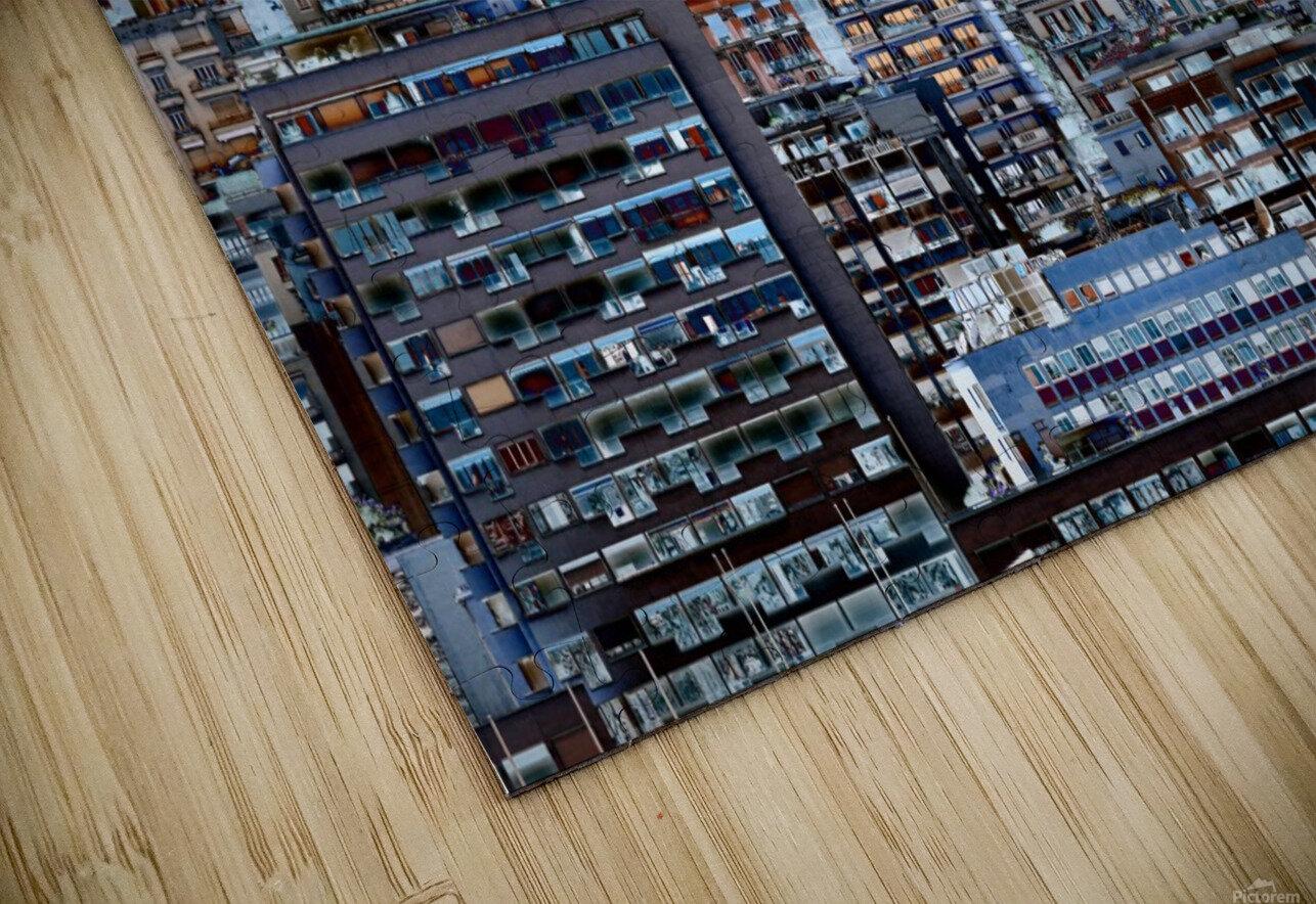 Metropolis HD Sublimation Metal print