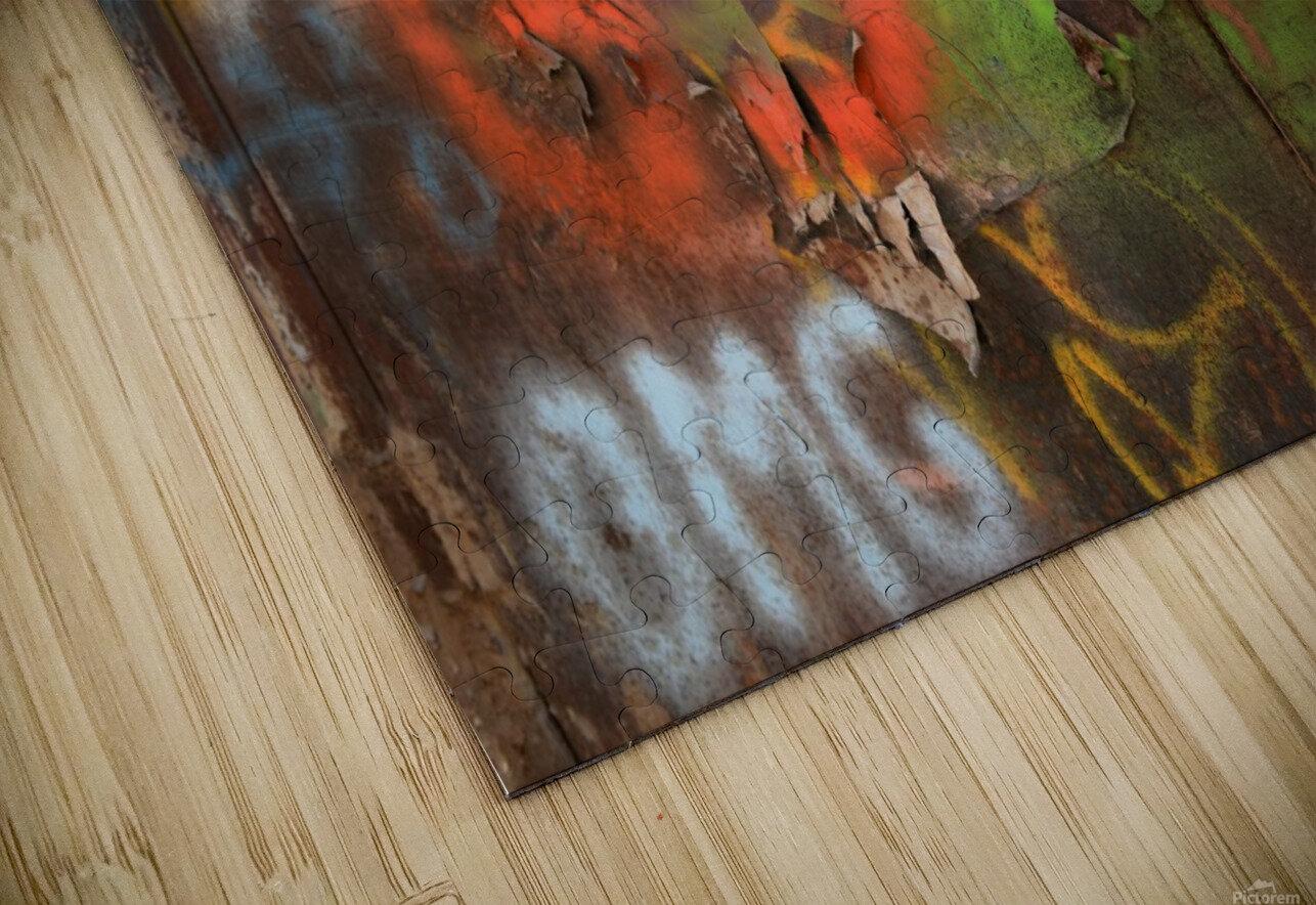 Street colors HD Sublimation Metal print