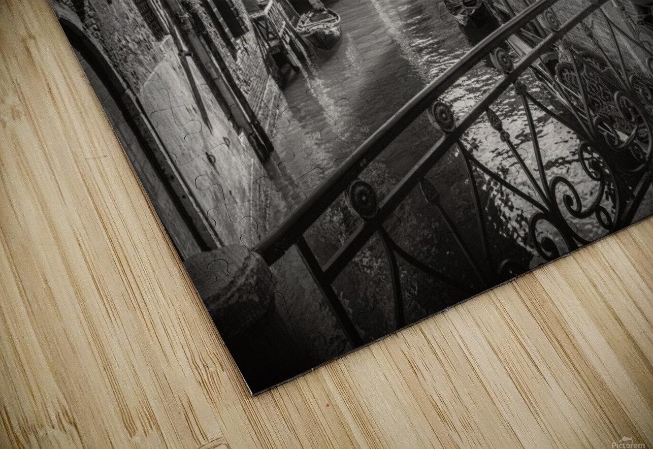 Gondolieri HD Sublimation Metal print