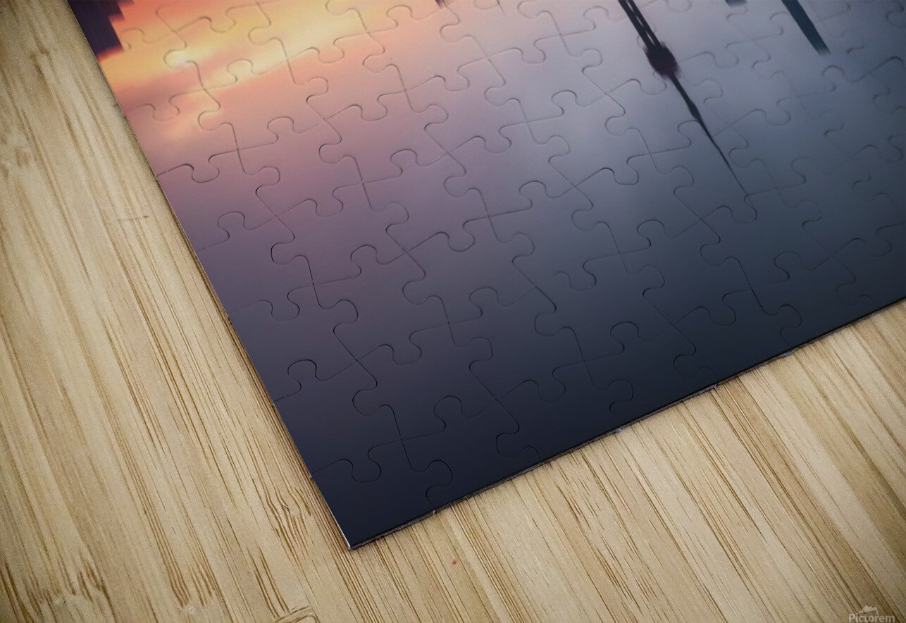 Good Morning Shanghai HD Sublimation Metal print