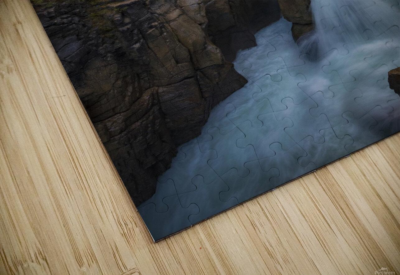 Sunwapta Falls HD Sublimation Metal print