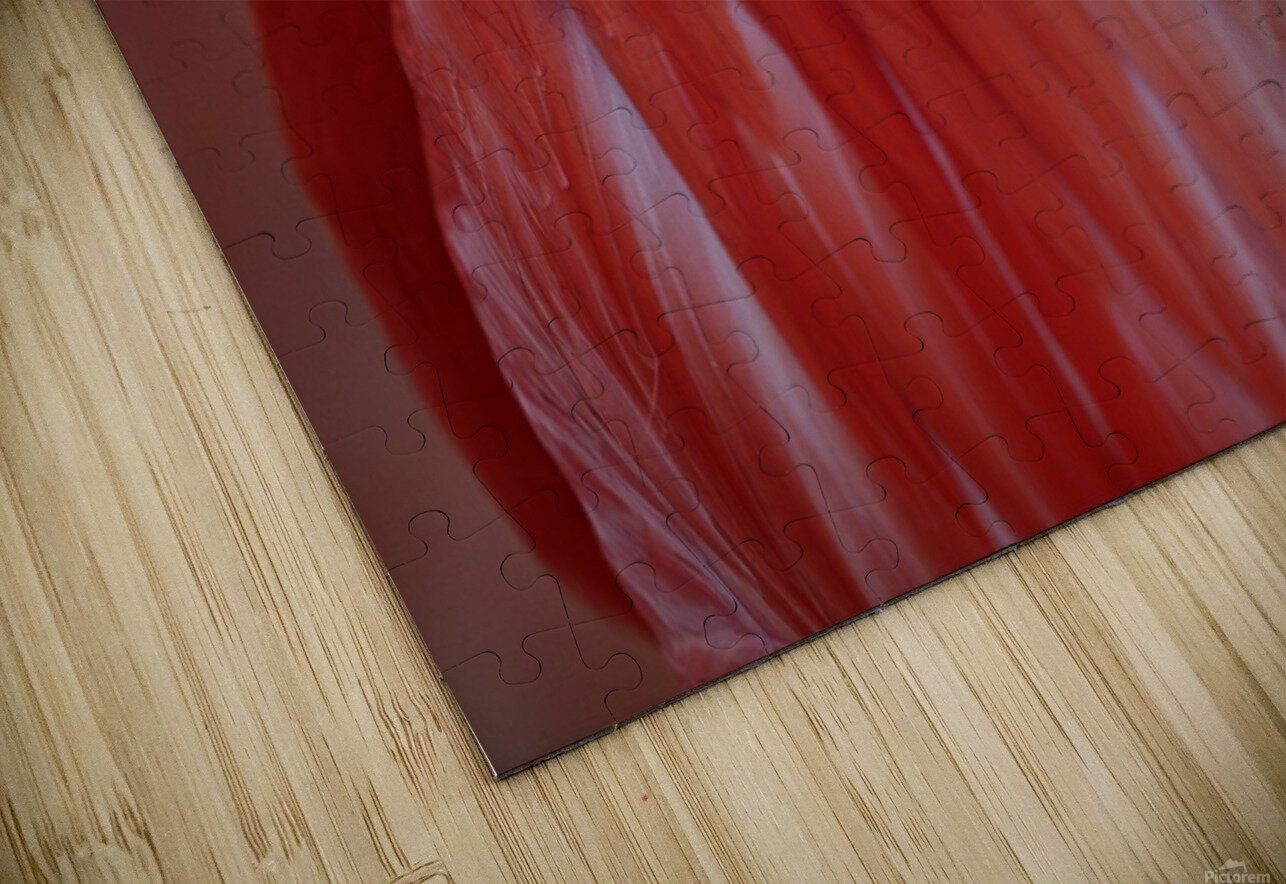 RED HD Sublimation Metal print