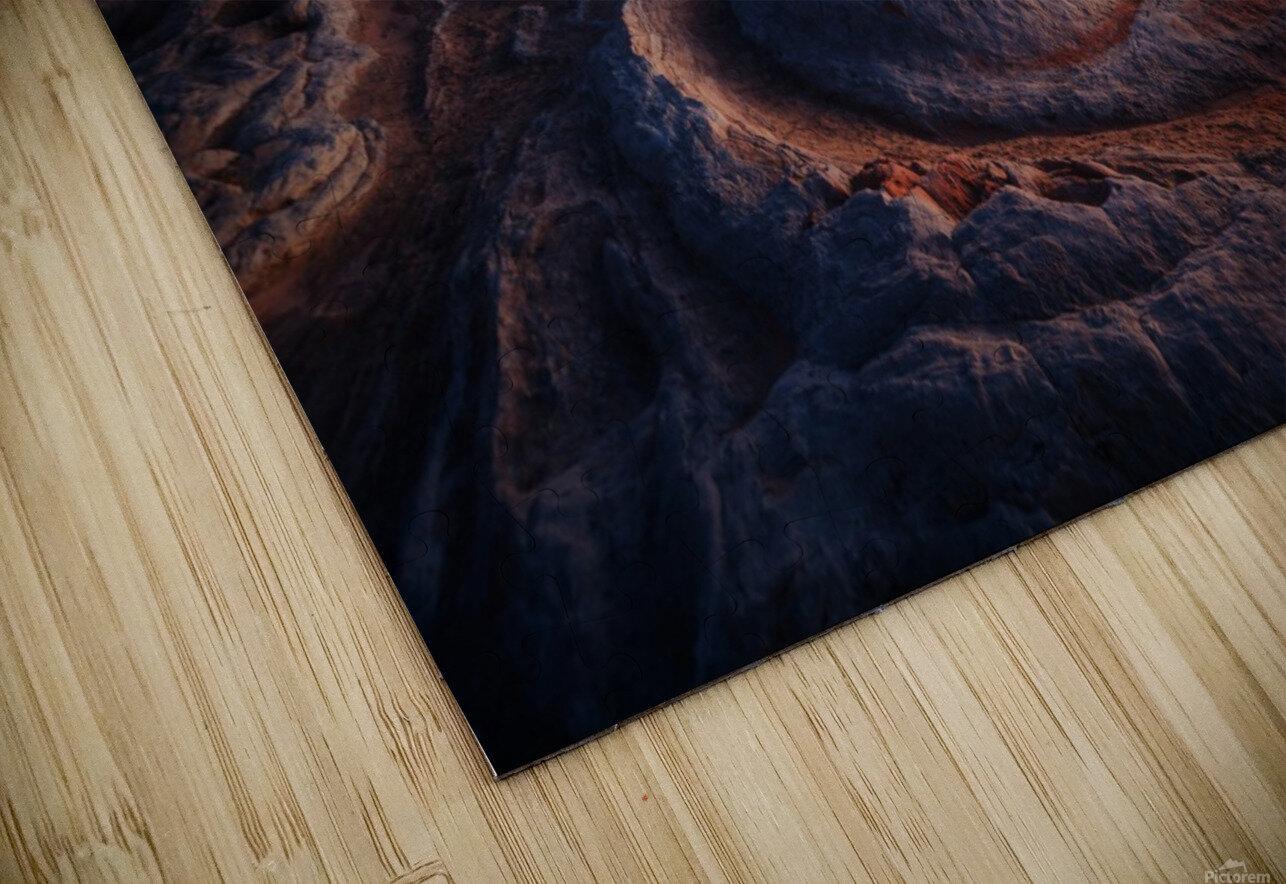 Gold Pocket. HD Sublimation Metal print