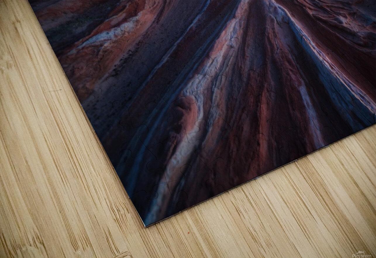 Gordian stone knot HD Sublimation Metal print