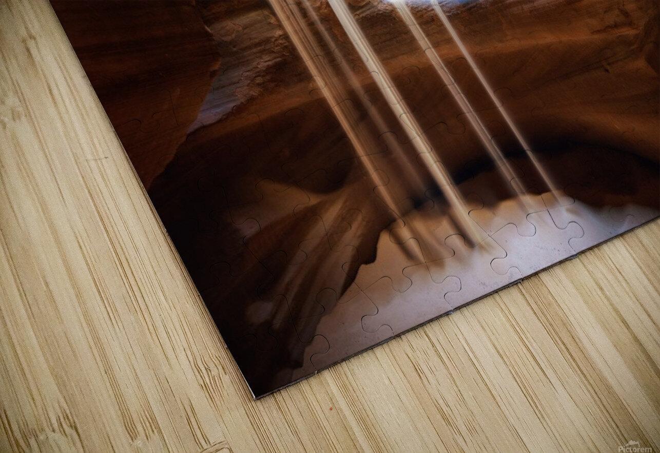 Antelope Waterfall HD Sublimation Metal print