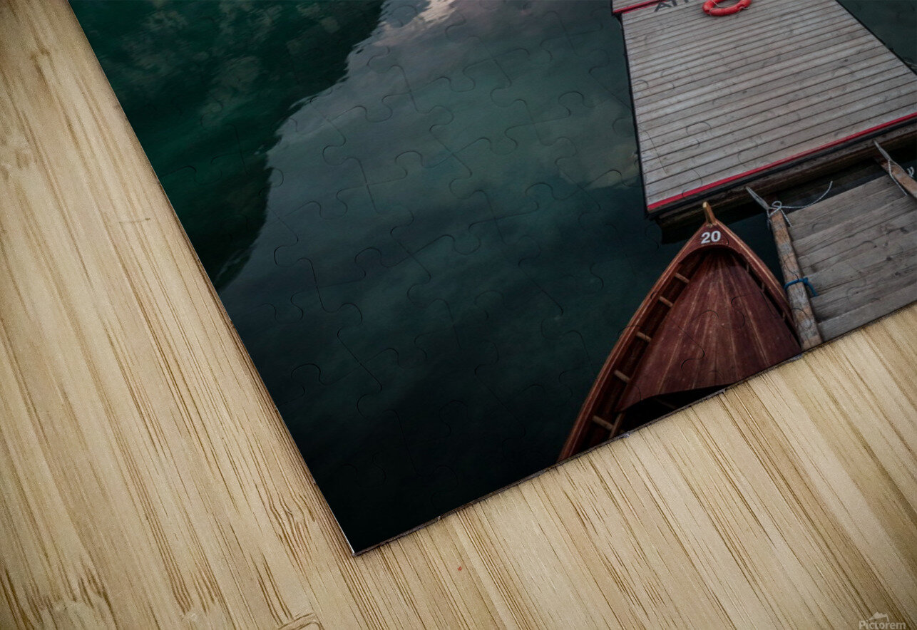 Braies reflections HD Sublimation Metal print