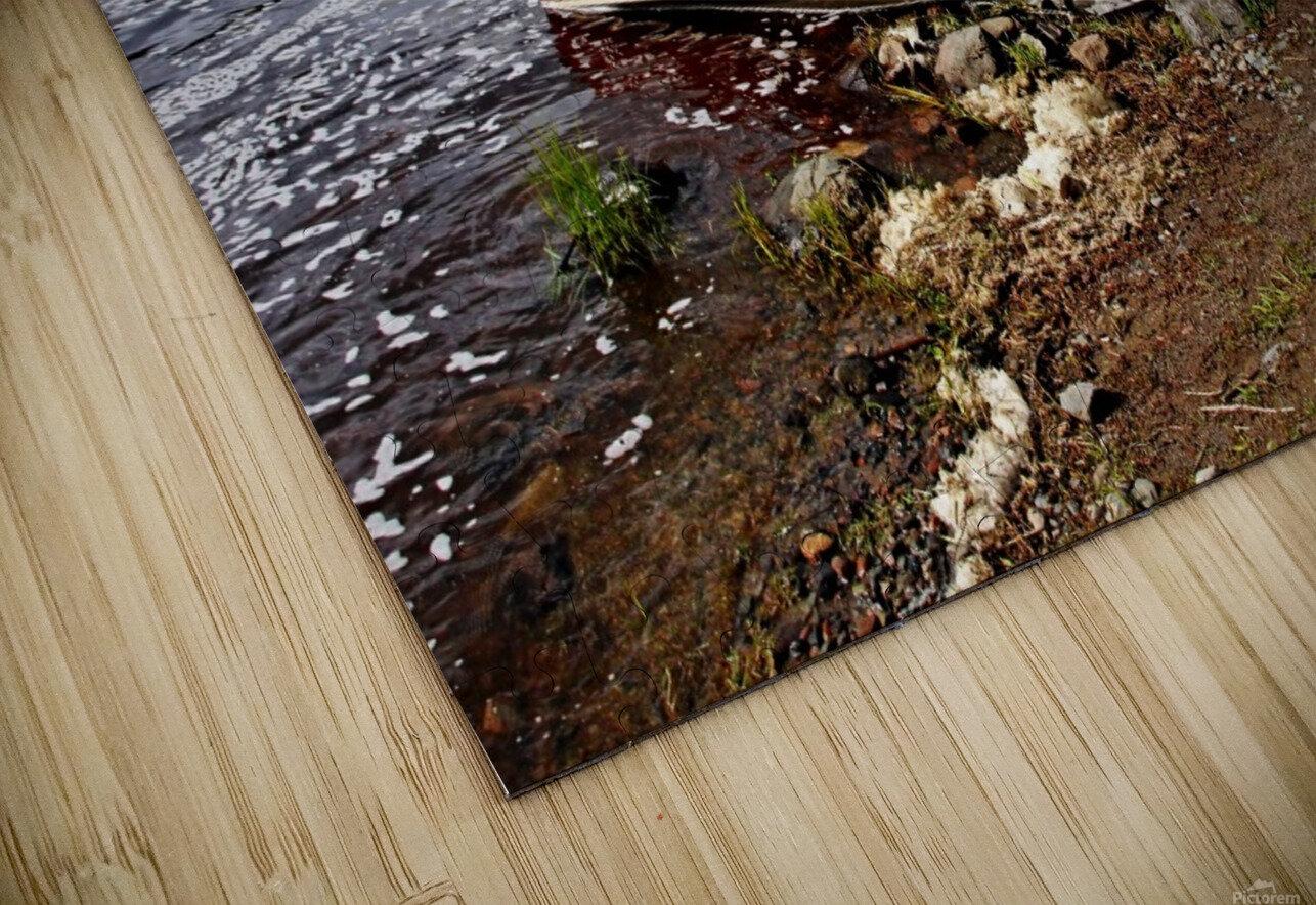 Fishing And Exploring HD Sublimation Metal print