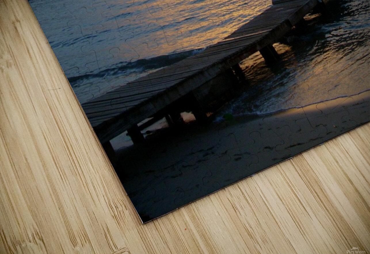 Sunset15 HD Sublimation Metal print