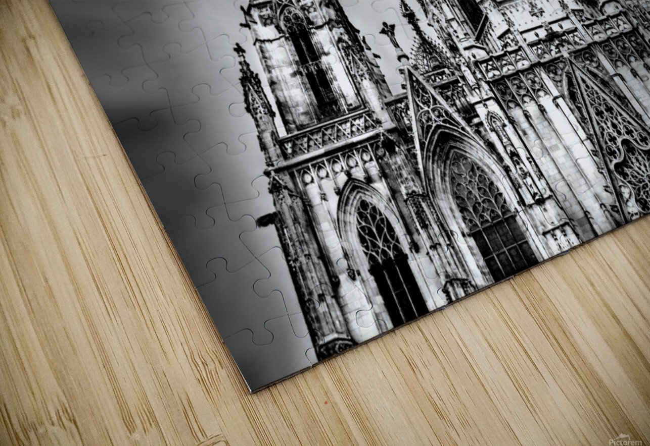 Barcelona Cathedral HD Sublimation Metal print