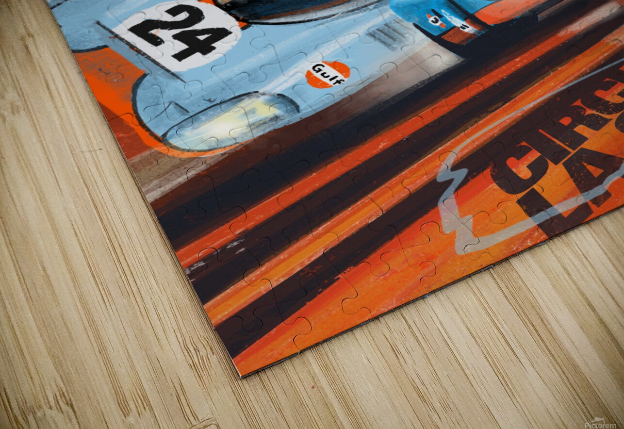 leMans HD Sublimation Metal print