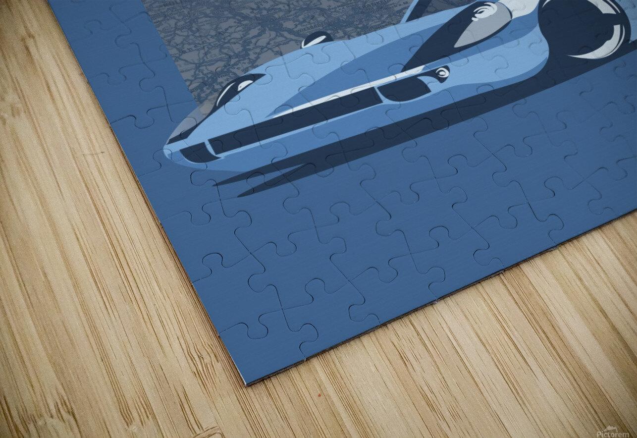 Carrera HD Sublimation Metal print