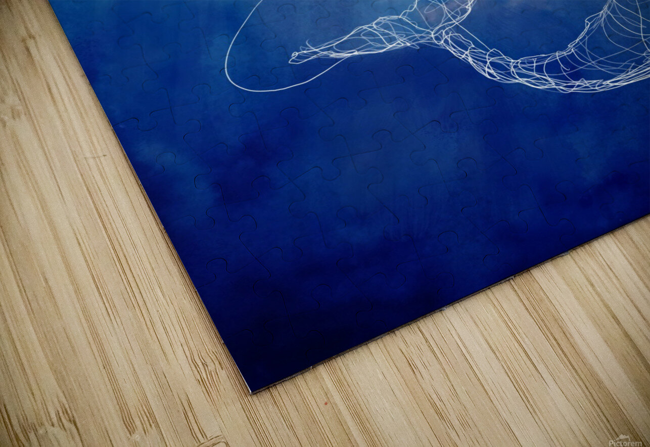 Moby Dick HD Sublimation Metal print