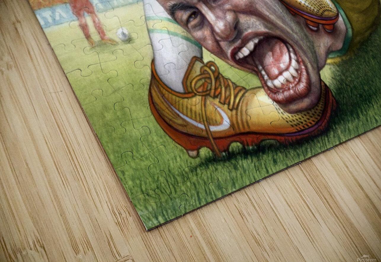Neymar by Krzysztof Grzondziel HD Sublimation Metal print