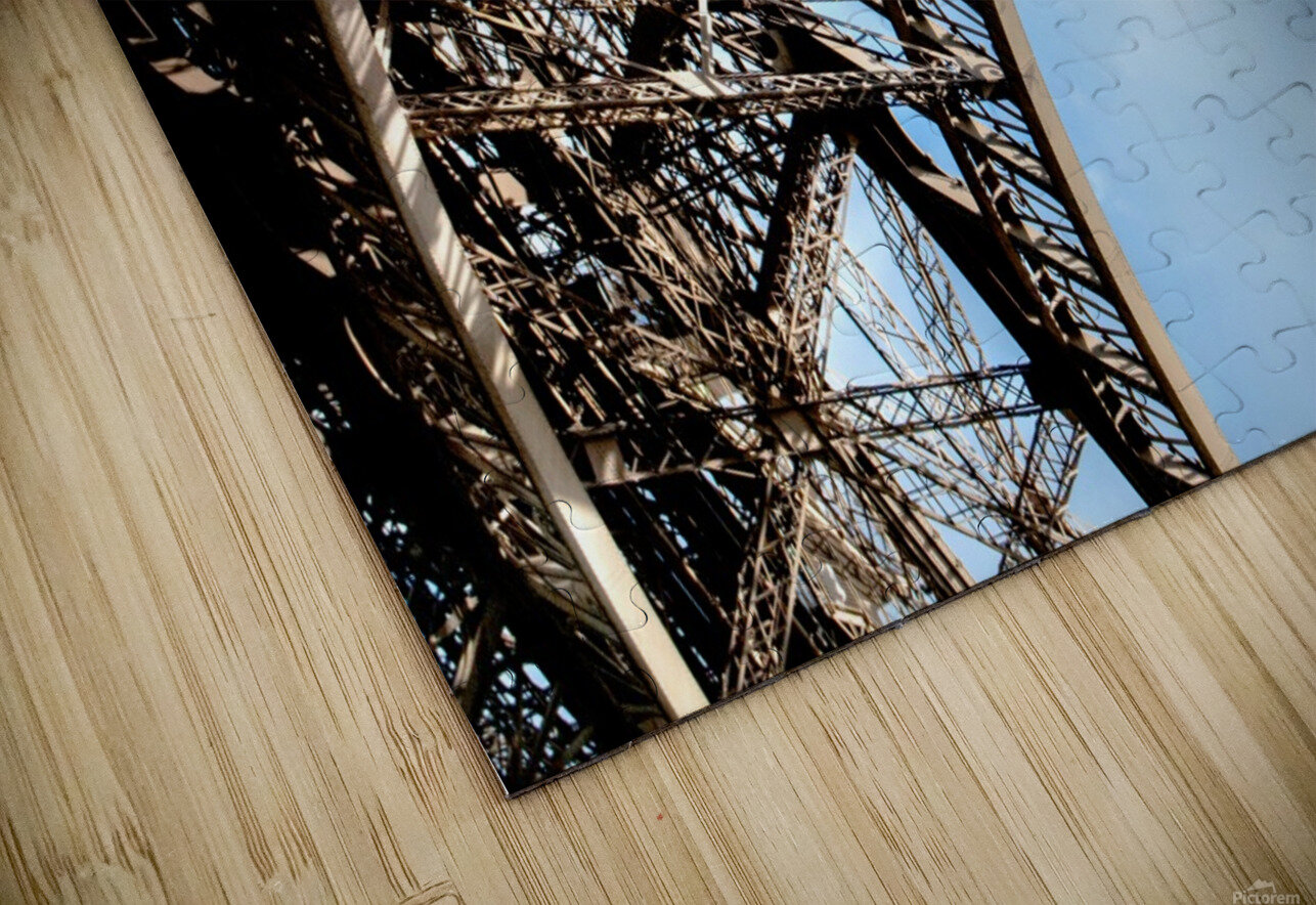 The Eiffel Tower  HD Sublimation Metal print