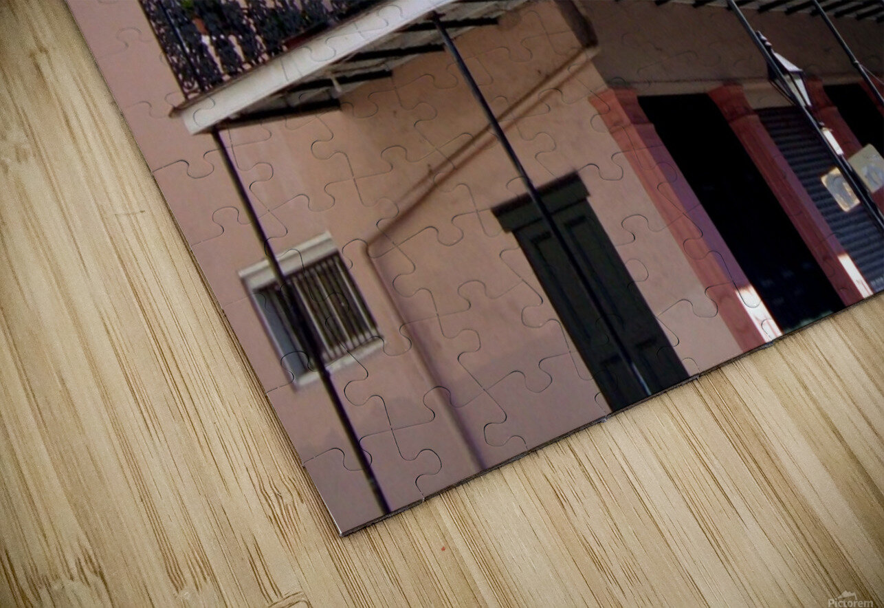 New Orleans Balcony HD Sublimation Metal print