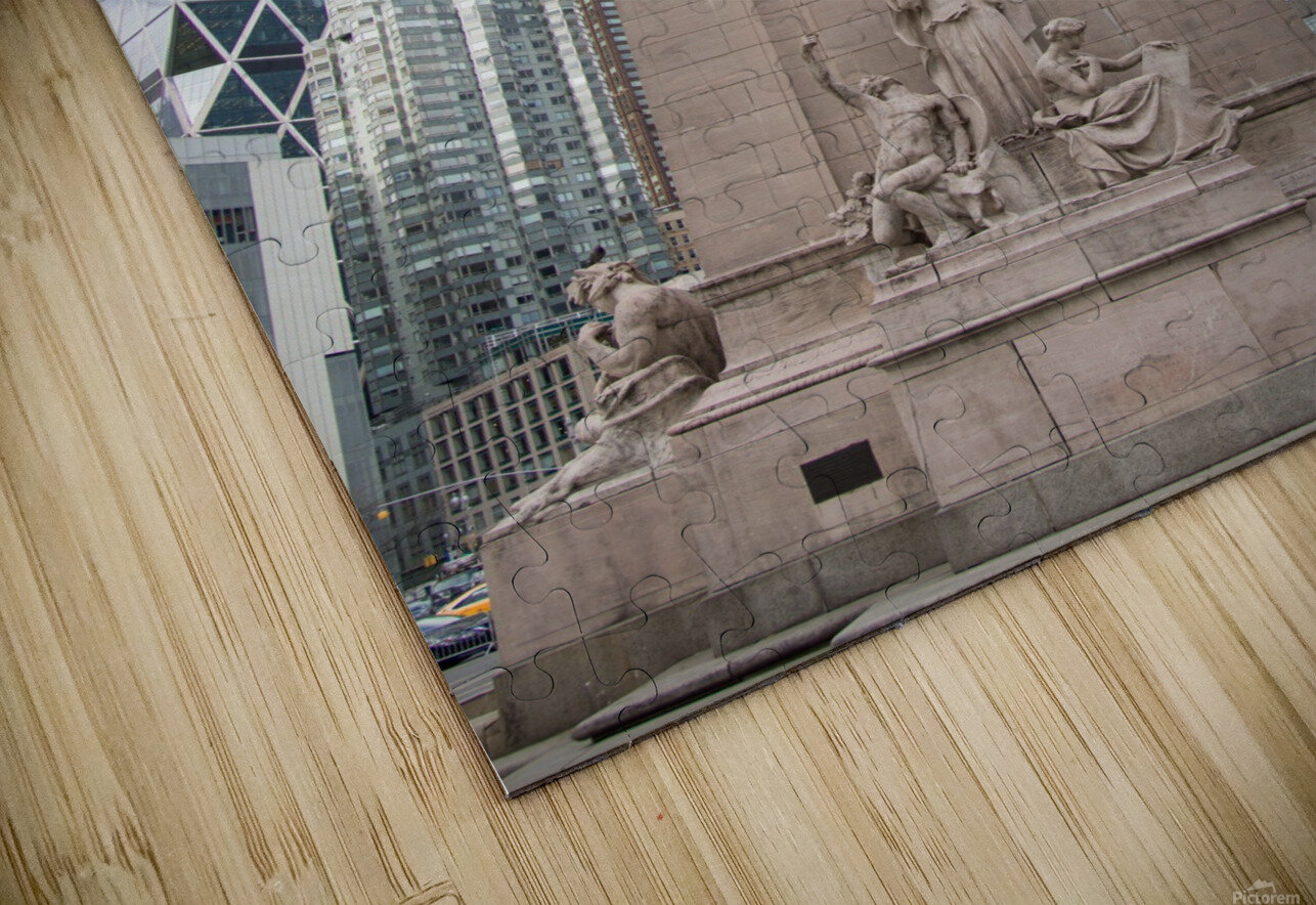 New York City HD Sublimation Metal print
