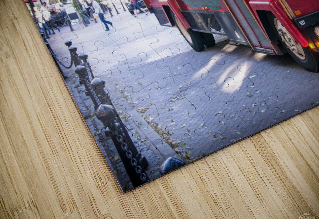 Vancouver Trolly HD Sublimation Metal print