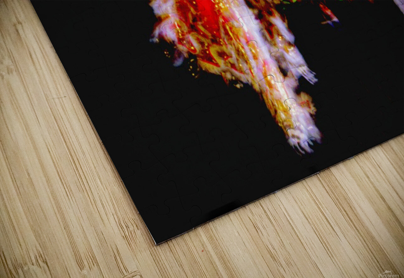 Chinese New Year HD Sublimation Metal print