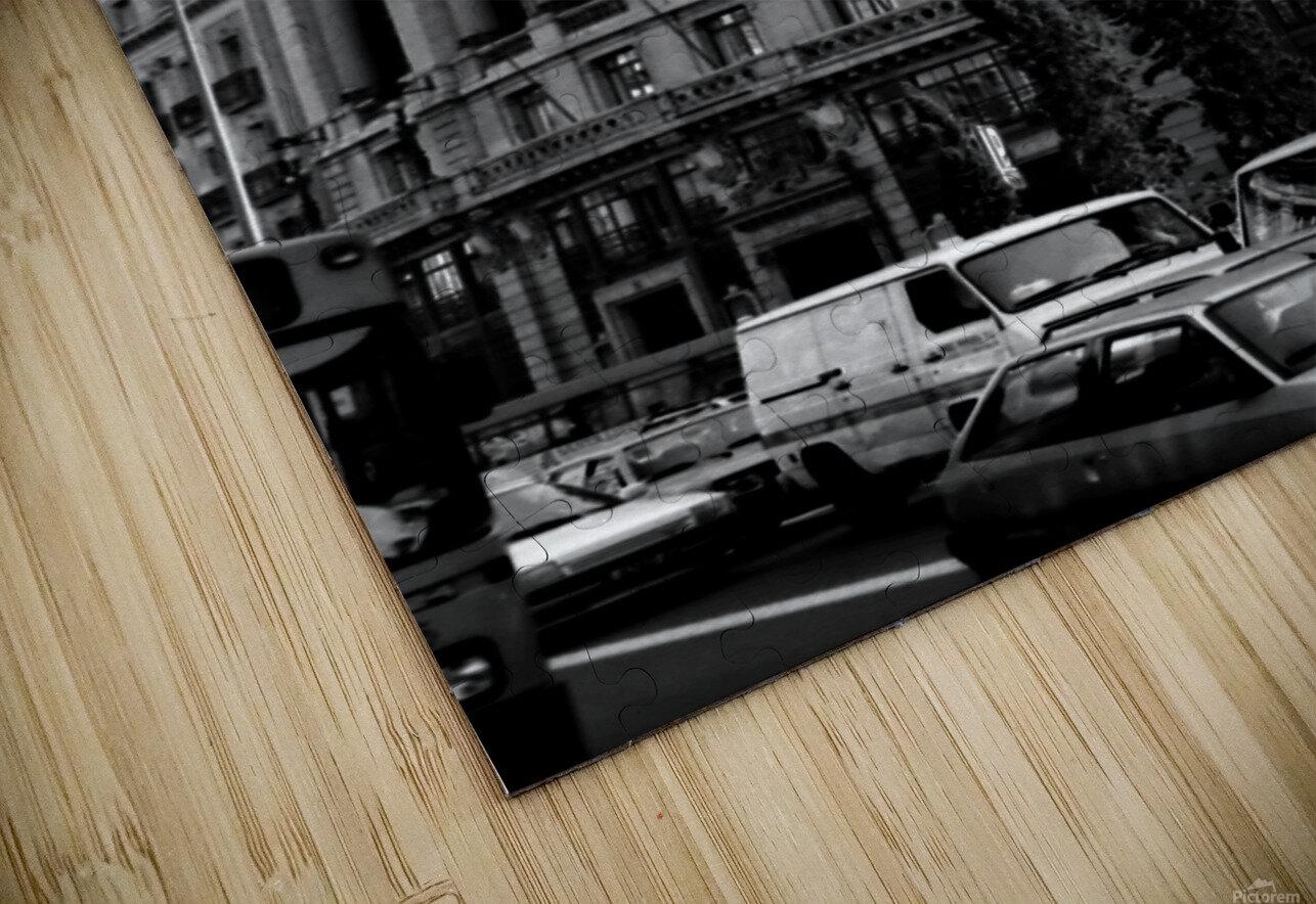 Calle de Alcalá  Madrid HD Sublimation Metal print