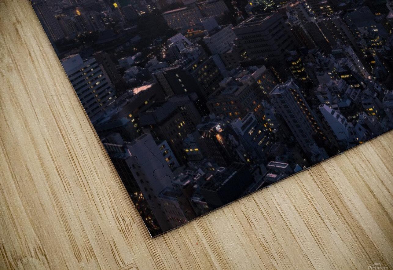 TOKYO 01 HD Sublimation Metal print