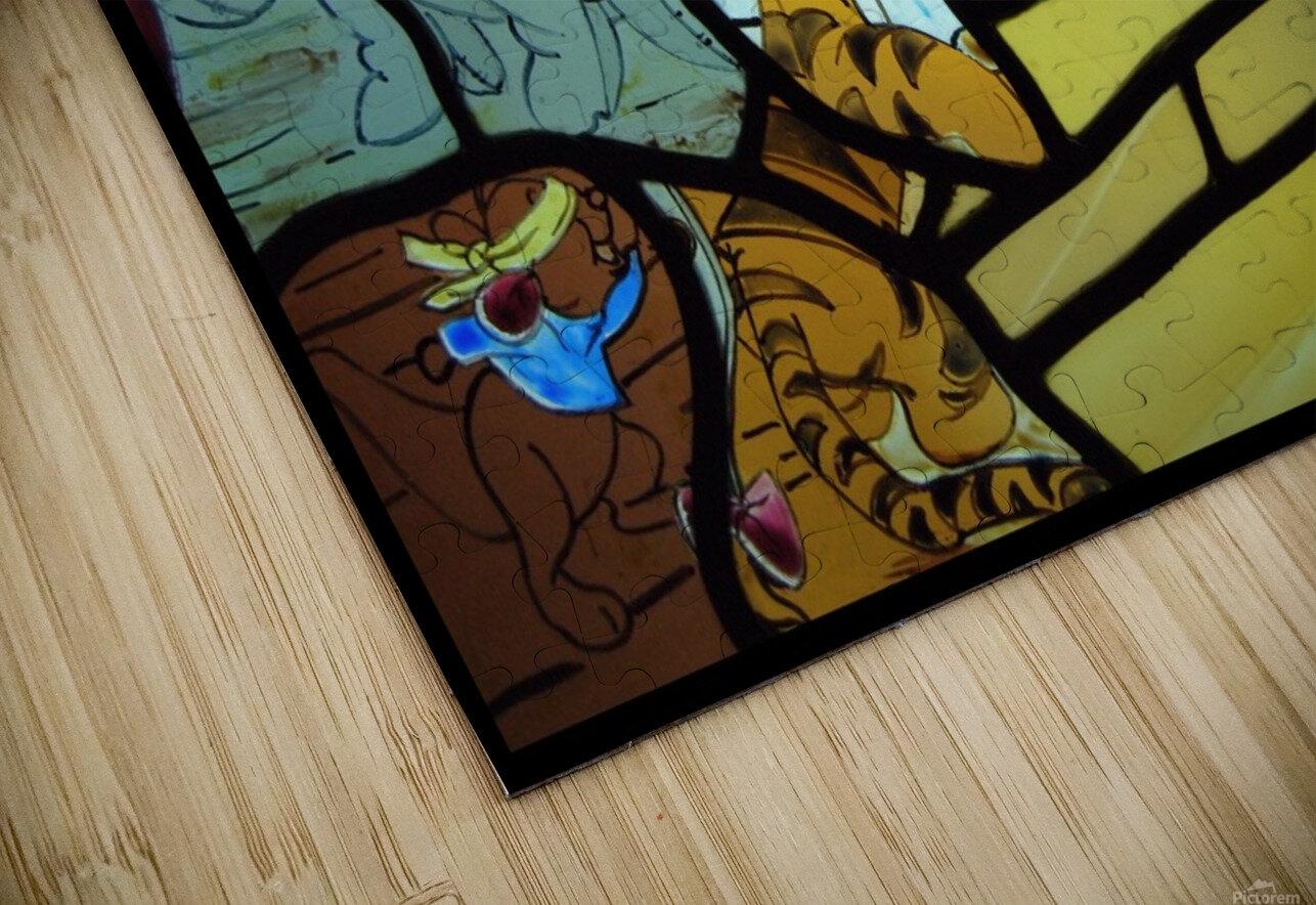 Winnie the Pooh HD Sublimation Metal print