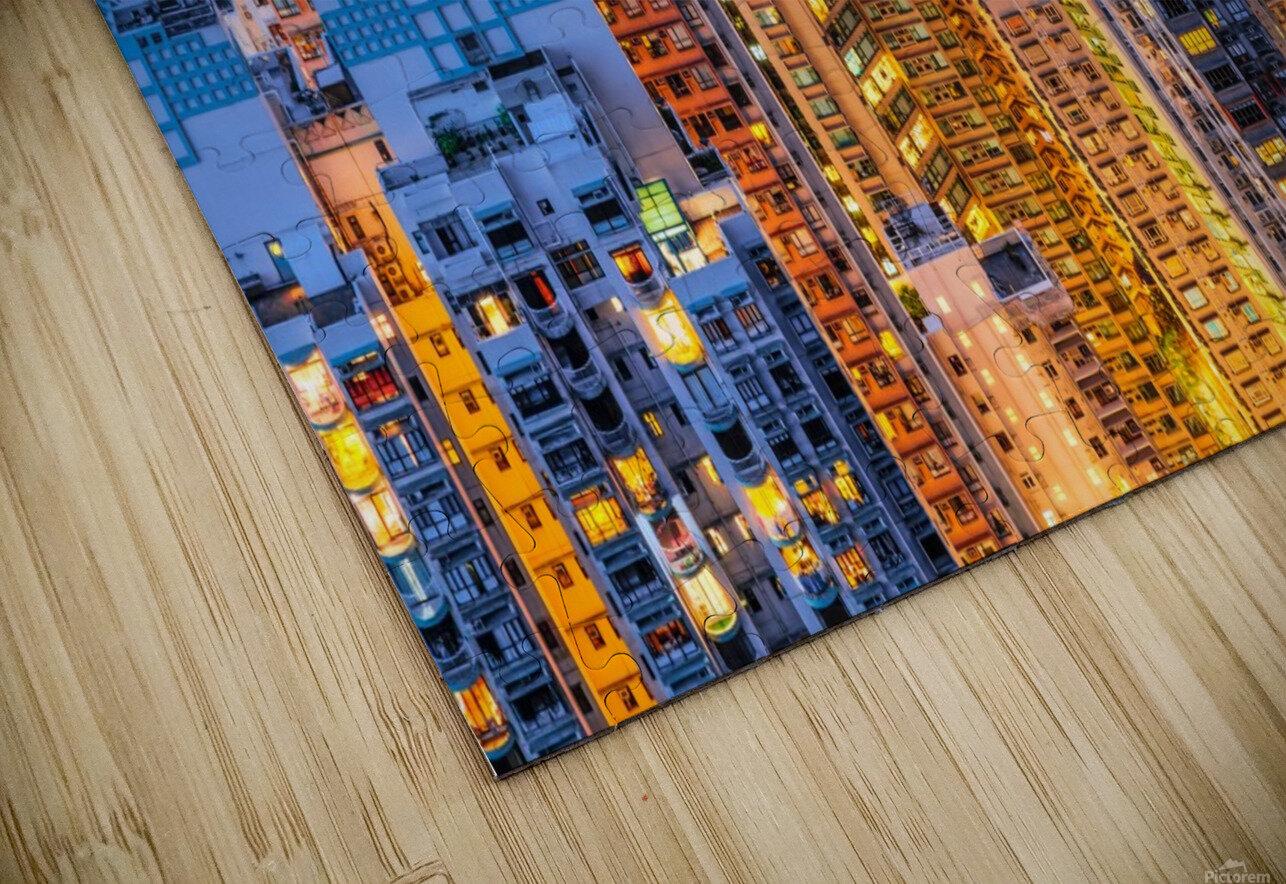 HONG KONG 34 HD Sublimation Metal print
