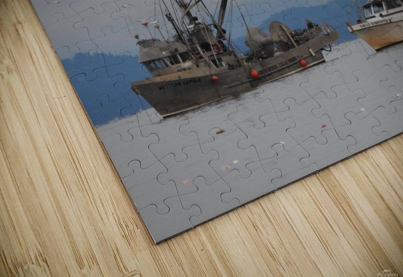 Herring Season HD Sublimation Metal print