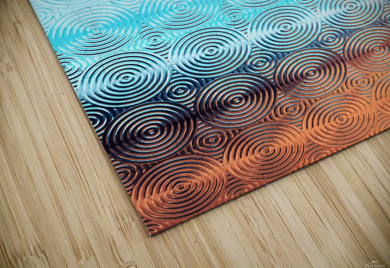 Geometric Pattern HD Sublimation Metal print