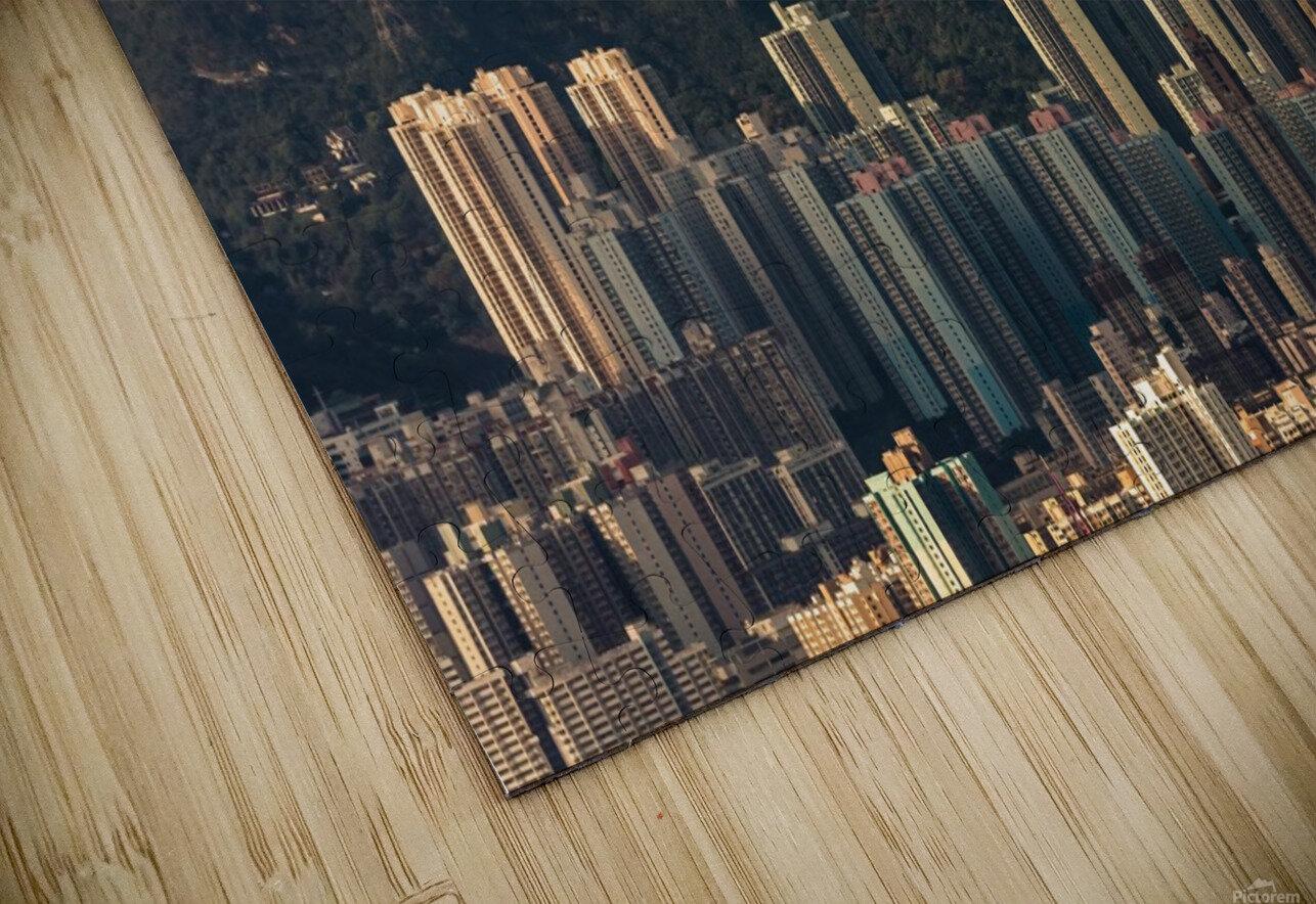 HONG KONG 06 HD Sublimation Metal print