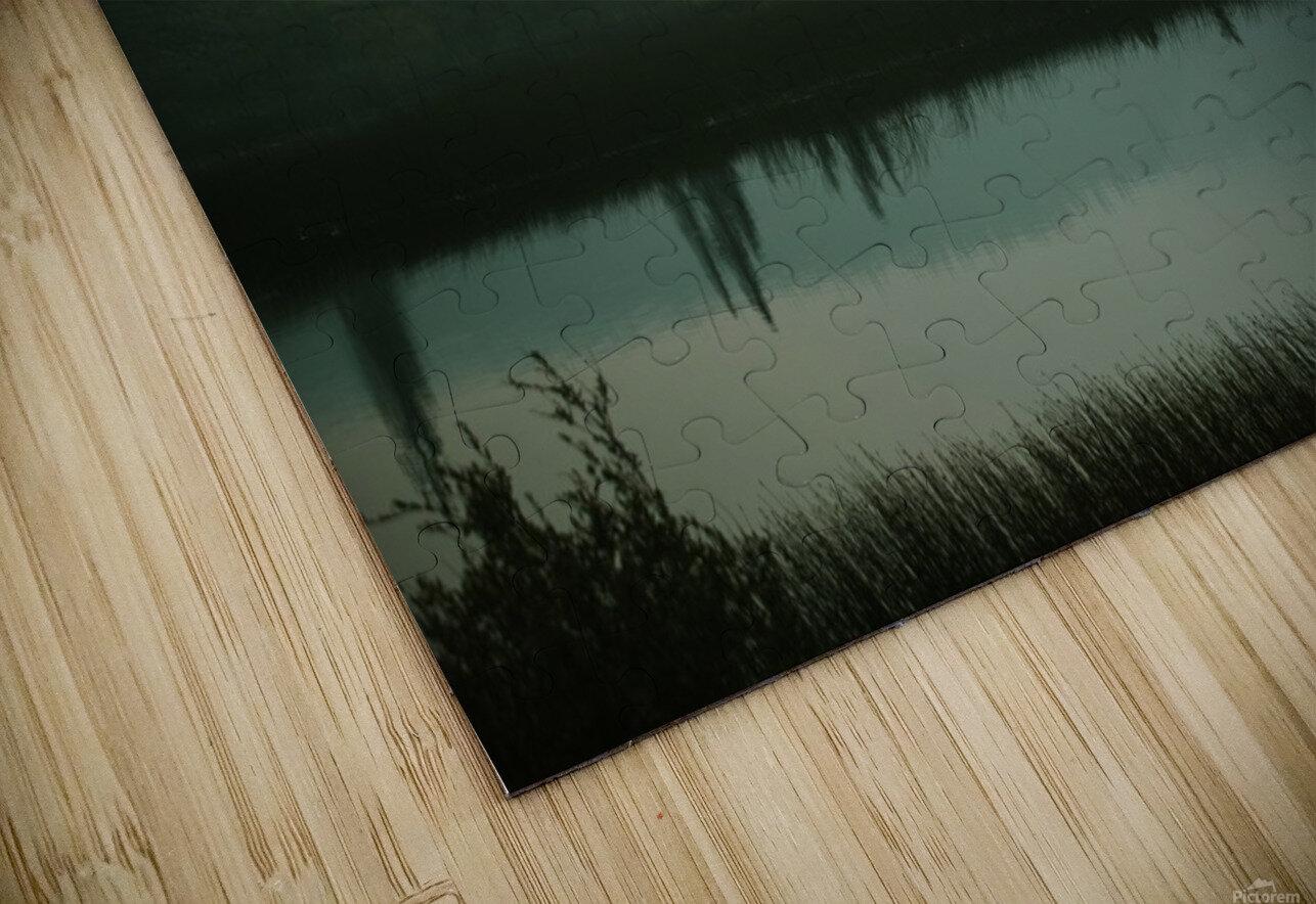 Lac brumeux Impression de sublimation métal HD