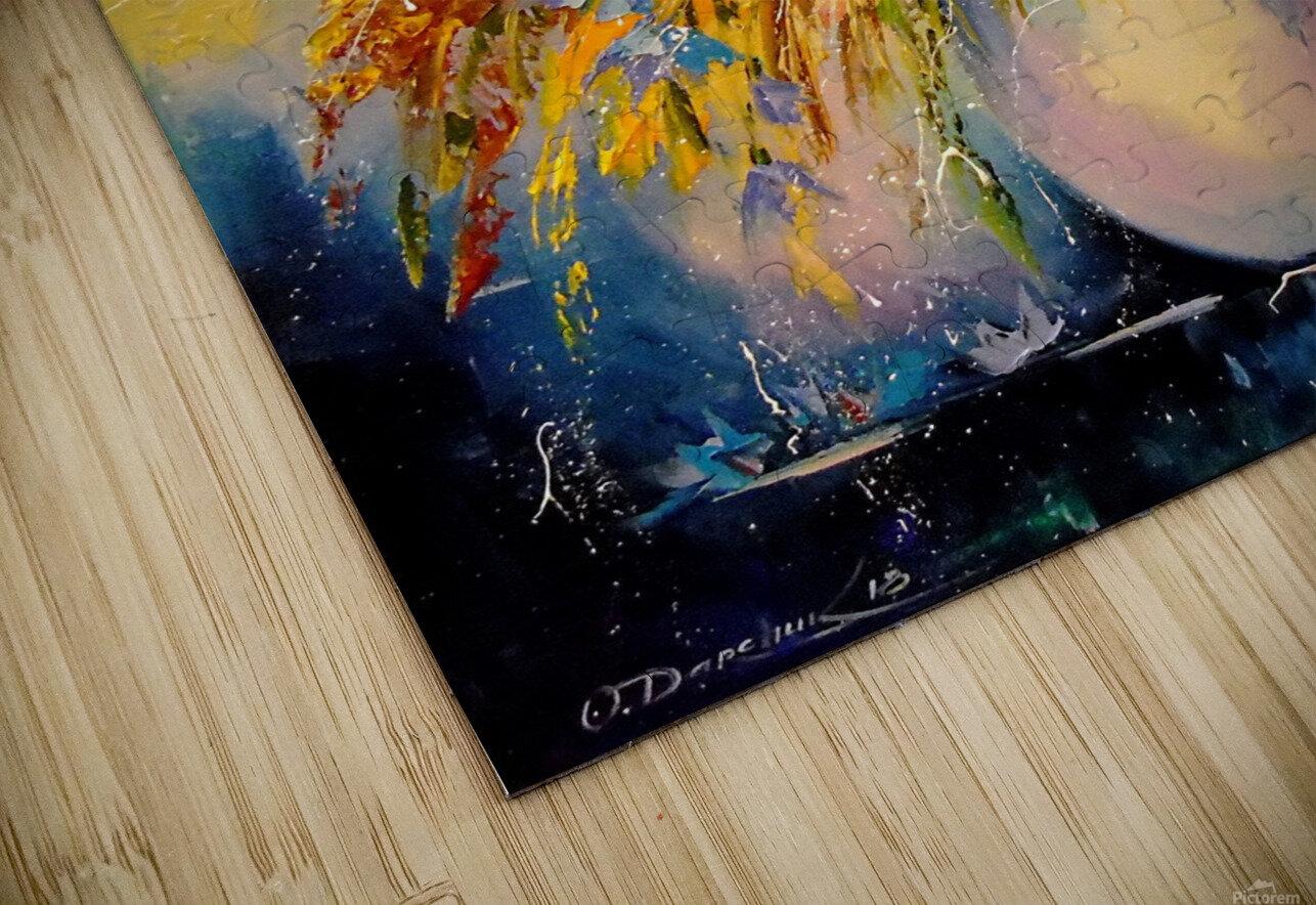 A bouquet of blue flowers HD Sublimation Metal print