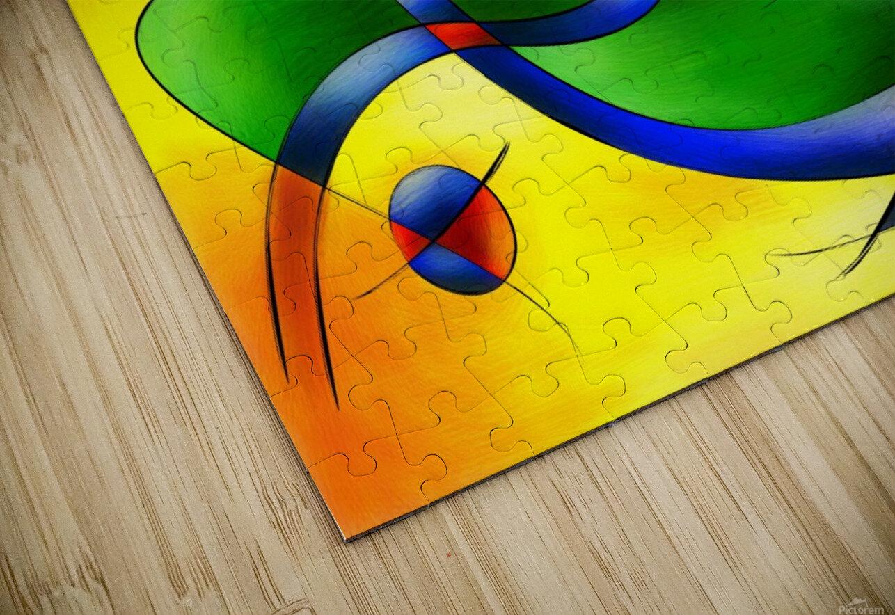 Antaressa - colourful world HD Sublimation Metal print