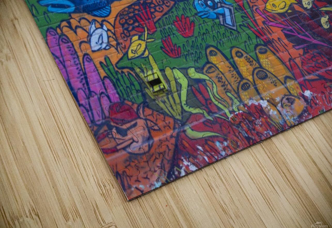 Torontos Graffiti Alley  17 HD Sublimation Metal print