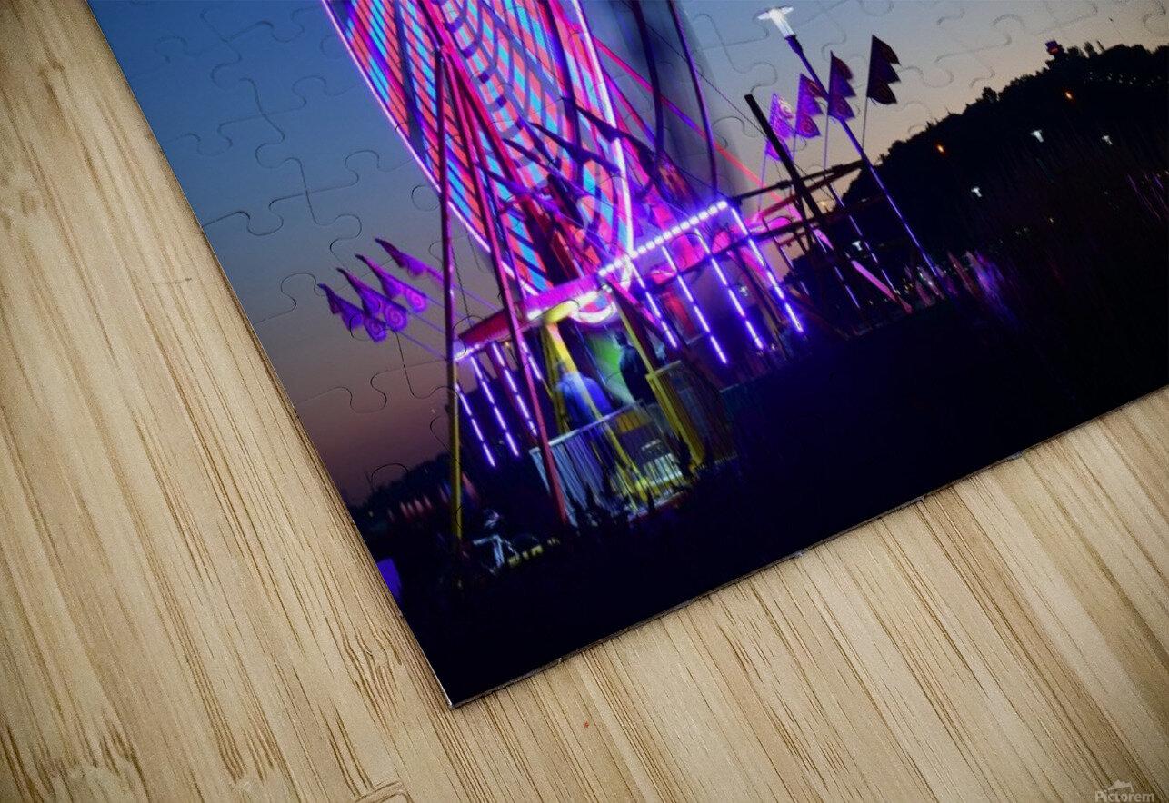 La Grande Roue HD Sublimation Metal print