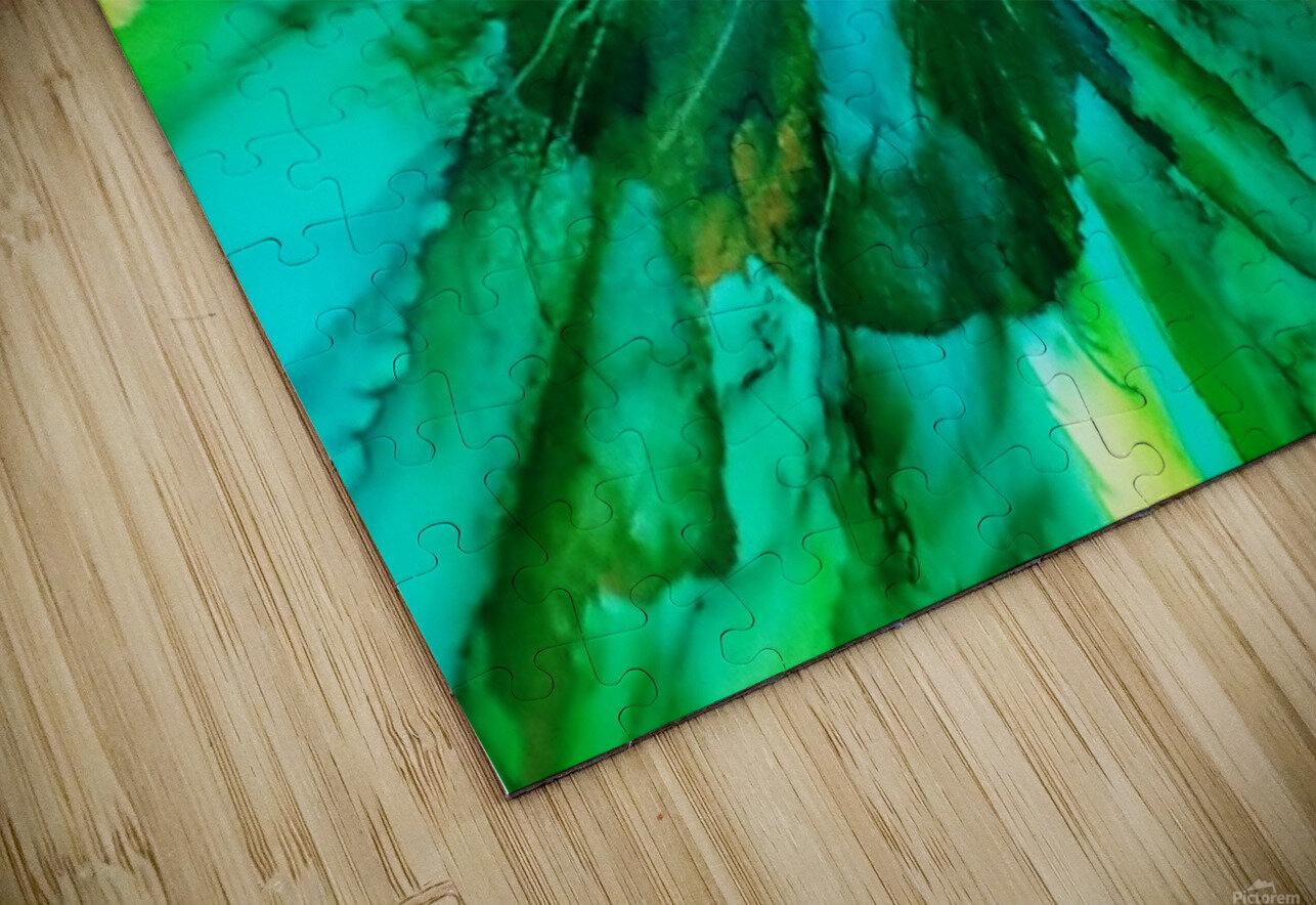 Mermaids Bouquet HD Sublimation Metal print