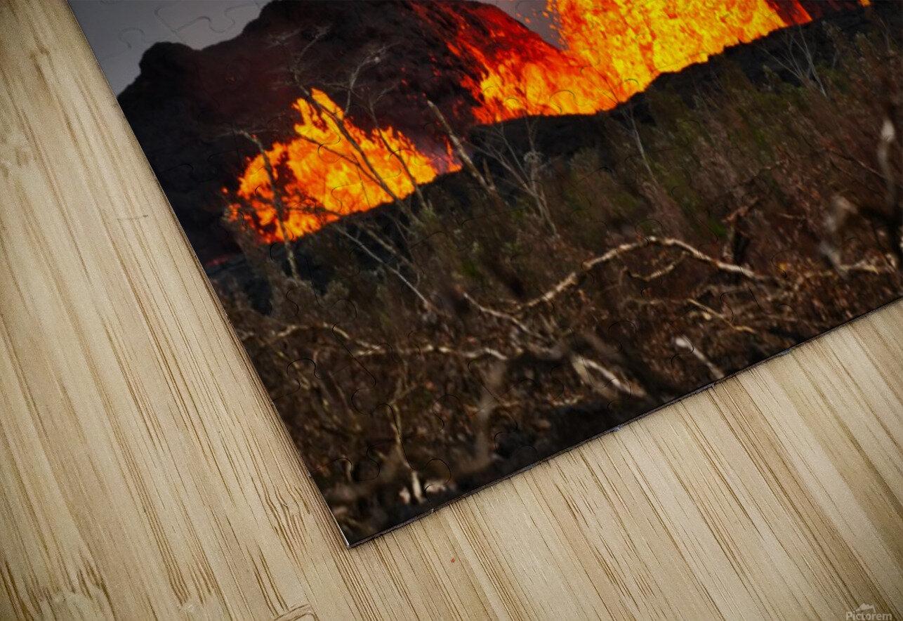 Leilani Estates Lava fountain HD Sublimation Metal print