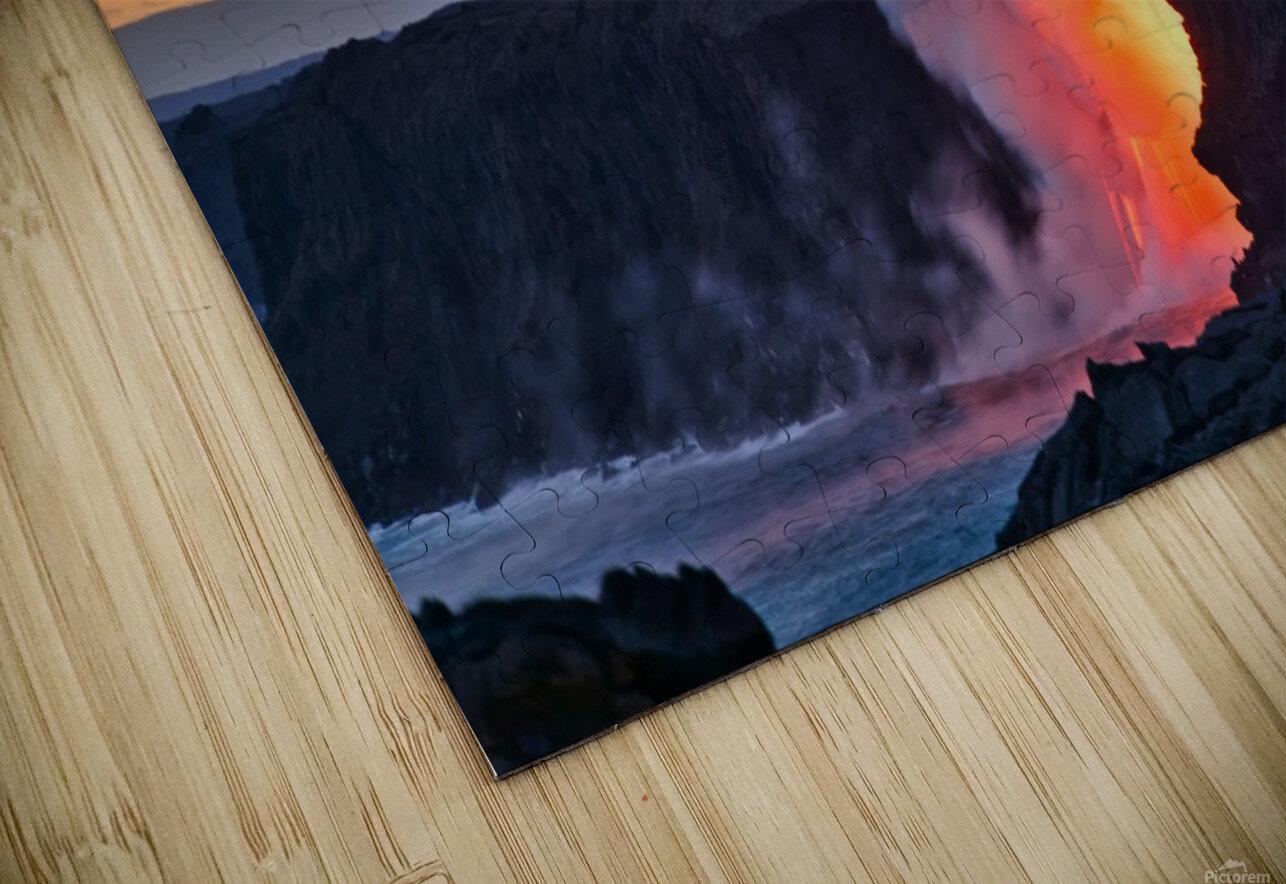 Lava hose HD Sublimation Metal print