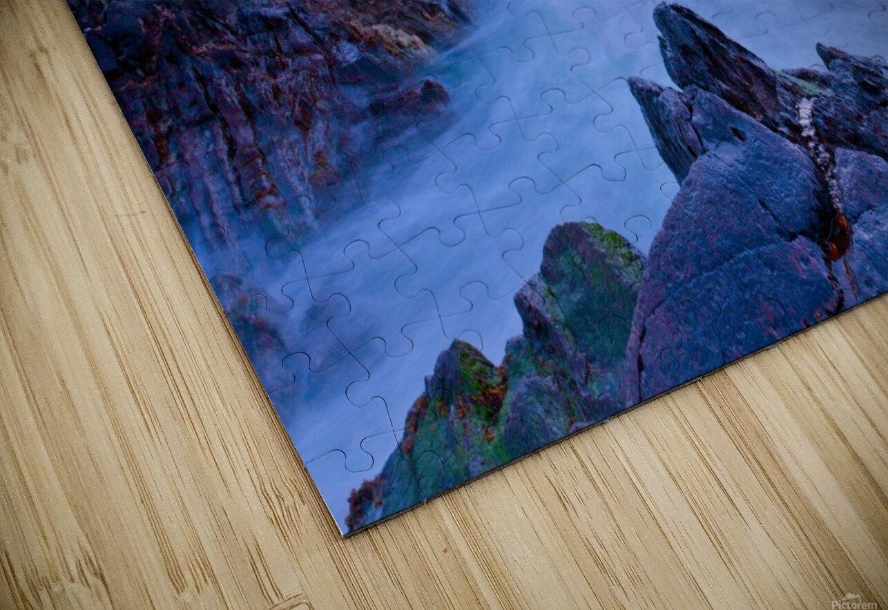 C 648 Beara Twilight HD Sublimation Metal print