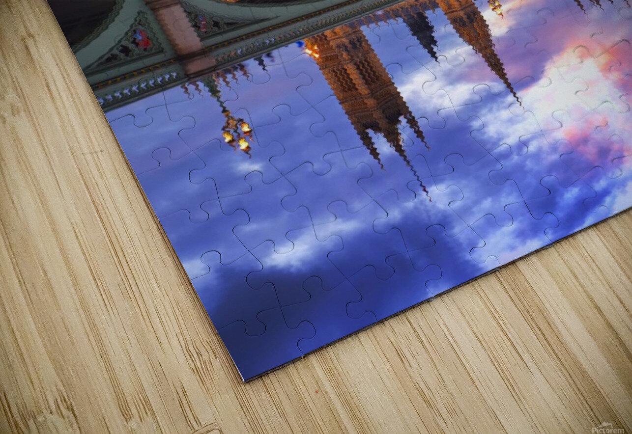 LON 005 Big Ben  HD Sublimation Metal print