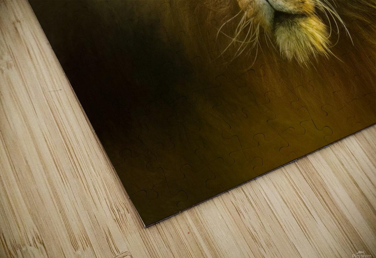 Lion King HD Sublimation Metal print